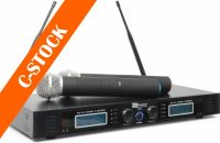"""PD732H 2x 16-Channel UHF Wireless Microphone System True Diversity with 2 Microphones """"C-STOCK"""""""