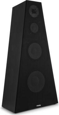 """Hi-Fi Højttaler SHFP800 4-vejs, 10"""" bas + 8"""" bas, 350W - Flot pyramide design, yderst velspillende!"""