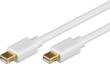 Mini DisplayPort kabel 2 x mini DP han, Hvid (2m)