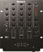 Numark M4BLACK, 3-Channel Scratch Mixer