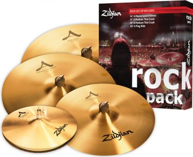 Zildjian A0801R Rock Pack, This explosive collection features the i