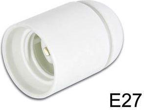 "<span class=""c9"">Bailey lights -</span> Kronefatning E27, 10mm gevind, Hvid (max 240VAC/60W)"