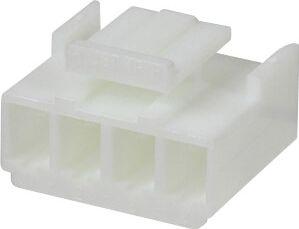 "<span class=""c10"">JST -</span> Ledning-til-print stik JST VH, 1x4 pol, 250V/10A, 3,96mm"