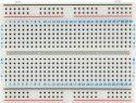 """Forsøgsprint, <span class=""""c10"""">Velleman -</span> Loddefri forsøgsbord (Breadboard) 456 huller"""