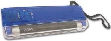 """<span class=""""c9"""">Velleman -</span> Mini UV sortlyslampe + lommelygte, blå hus"""