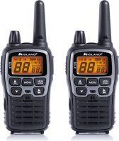"<span class=""c10"">MIDLAND -</span> XT70 PMR446 radio m. lader +2 bat. +Clip +Headset (2-pak)"