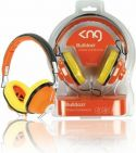"Headphones, <span class=""c9"">KNG -</span> KNG Hovedtelefon Bulldozr chaos constructor (Orange)"