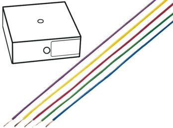 "<span class=""c10"">HELUKABEL -</span> Monteringsledning 2,5mm² trådet, Brun (metervare)"