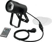RGBW LED pinspot 15W, DMX, 4°/6°/20° (frost filter)