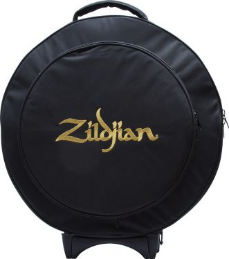 "Zildjian ZCB22R Rolling Cymbal Bag 22"", Rugged and streamlined 22"""
