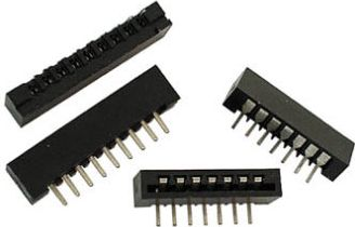 FFC (PFC) Flexkabel konnektor 12 pol, Lige (2,54mm)