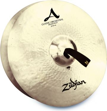 "Zildjian 20"" Classic Orchestral Selection Medium Heavy Pair, Matche"