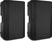 """VONYX VSA150S Aktivt højttalersæt 15"""" med BT/mp3"""