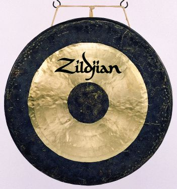 """Zildjian 40"""" Hand Hammered Gong, The first choice of the world's le"""