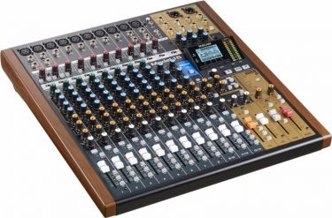 Tascam Model 16 analog mixer og 14 track digital recorder
