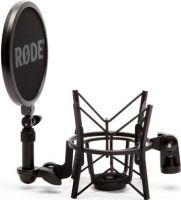 Røde Studie mikrofon ophæng m/rundt popfilter