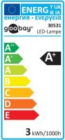 "<span class=""c9"">GOOBAY -</span> E14 LED kertepære 230V / 3W Varm Hvid"