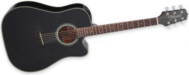 Takamine GD15CE BLK, Affordable Dreadnought guitar with a warm and