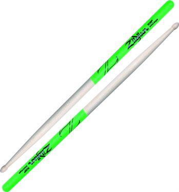 Zildjian 5A Green Dip Maple - Wood Tip, Very sensitive and controll