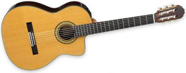 Takamine TH5C, Concert Classic guitar, handcrafted in the Pro Serie