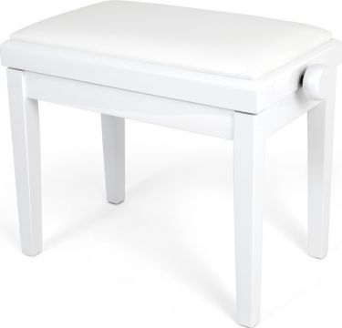 Profile HY-PJ023-WH Piano Bench, Affordable piano bench with adjust