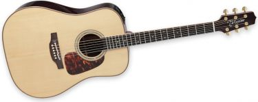 Takamine P7D, Dreadnought. Takamine CTP-3 Cool Tube preamp