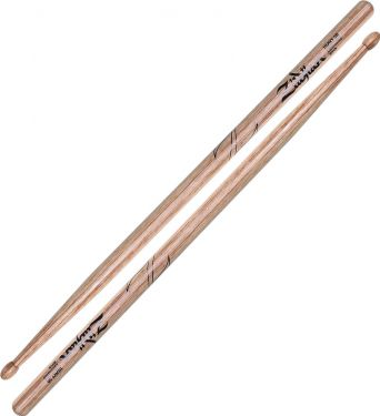 Zildjian 5B Laminated Birch - Wood Tip, Heavy and powerful. Made fr