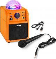 SBS50L BT Karaoke Speaker LED Ball Orange