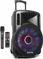 "FT15LED Portable Sound System 15"" 800W"