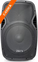 "AP1500PA Portable Speaker 15"" 2VHF MP3 BT ""C-STOCK"""