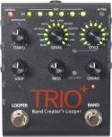 Guitar- og baseffekter, DigiTech Trio+. Band Creator/Looper., Trio+ has all the goodness as