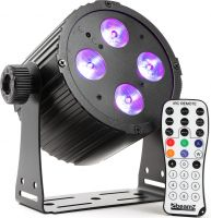 BAC404 Aluminum LED Spot 4x 18W 6-in-1 LEDs