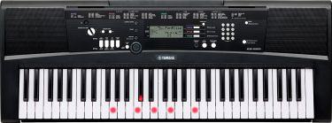 "Yamaha EZ-220 DIGITAL KEYBOARD (BLACK) ""B-STOCK"""