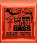 Bas Strenge, Ernie Ball EB-2838, 6-string Slinky Long Scale 32-130