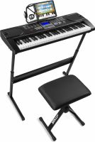 KB1SET Electronic Keyboard 61-Keys Premium Kit