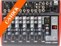 "PDM-L605 Music Mixer 6-Channel MP3/ECHO ""C-STOCK"""