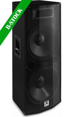 "CVB215 PA Speaker Active 2x 15"" BT MP3 1600W ""B-STOCK"""