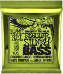 Bas Strenge, Ernie Ball 2852 Short Scale Regular-Slinky, Short scale bass string