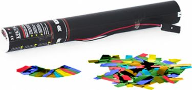 TCM FX Electric Confetti Cannon 50cm, multicolor metallic