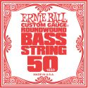 Bas Strenge, Ernie Ball EB-1650, Single .050 Nickel Wound string for Electric Bass