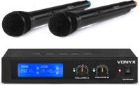 WM522 VHF 2-Channel Microphone Set with 2 Handhelds