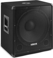 SMWBA18MP3 Bi-AMP Subwoofer 18inch/1000W & BT