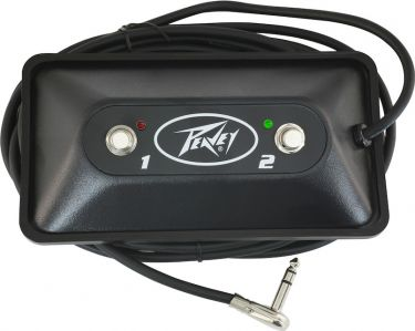 Peavey Multi-P2-LED Button Footswitch, Sturdy Multi Purpose two but