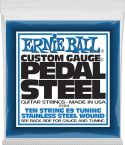 Elguitar, Ernie Ball EB-2504, Complete set for E9-tuning. Stainless Steel