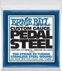 Guitarstrenge, Ernie Ball EB-2504, Complete set for E9-tuning. Stainless Steel