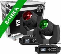 "Tiger 7R Hybrid Moving head kit 2 pieces in Flightcase ""B-STOCK"""