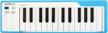 Arturia MICROLAB-BLUE USB Controller keyboard, The go-anywhere 25-k