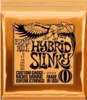 Elguitar, Ernie Ball EB-2222, Hybrid Slinky 9-46