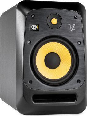 """KRK V8S4 Powered Monitor, 8"""" full-range studio reference monitor"""