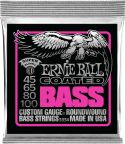 Bas Strenge, Ernie Ball EB-3834, Coated Super Slinky 45-100